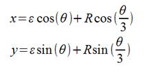 equation-peritrochoid