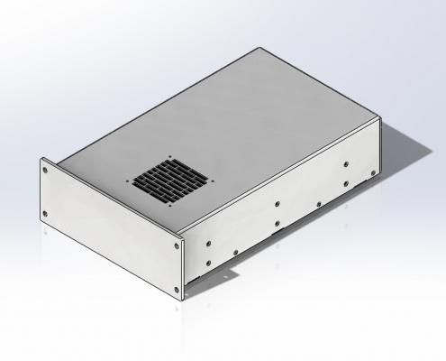 Sheet Metal Panel Holder Mechanical Drafting Services Solidworks